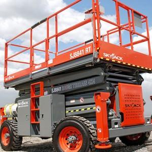 Diesel Powered Rough Terrain Scissor lifts