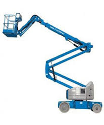 Battery Powered Articulated Boom Rentals